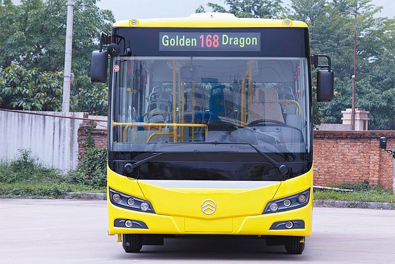 Автобус Golden Dragon XML 6845 JR